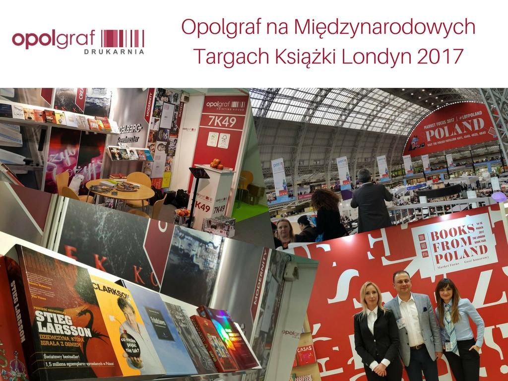 Opolgraf na Międzynarodowych Targach Książki Londyn 2017 (1)